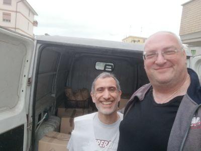 Andrea e Gianni pronti per la consegna!